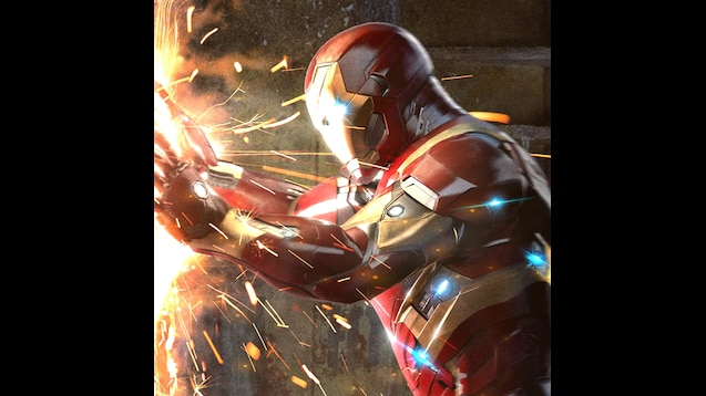 Steam Workshop Iron Man Vs Captain America Epic Wallpaper For