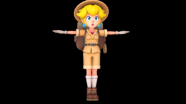 Steam Workshop Princess Peach Super Mario Odyssey