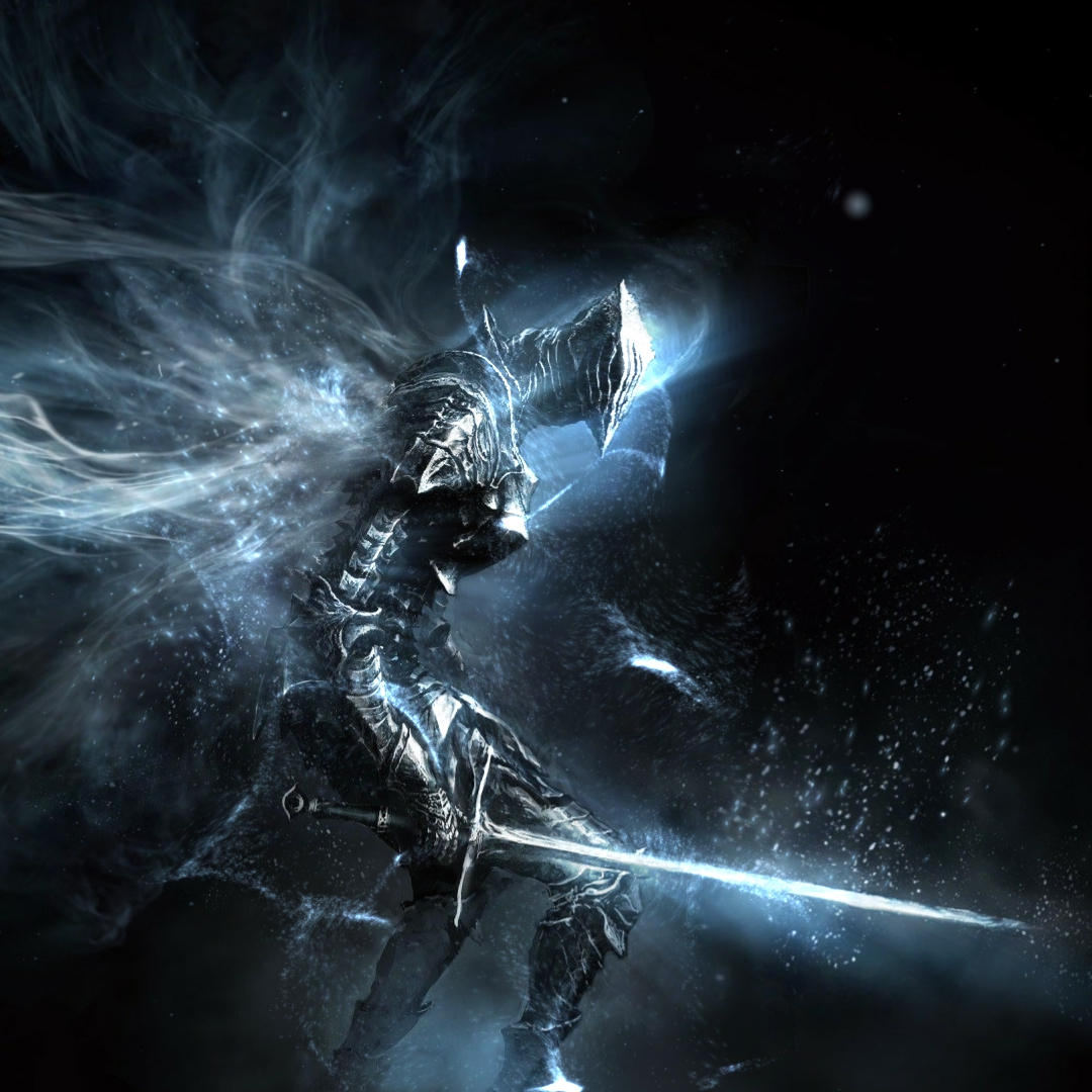Dark Souls Wallpaper With Better Effects (Boreal Outrider Knight)