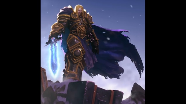 Steam Workshop :: Warcraft III Reforged - Arthas (Animated w