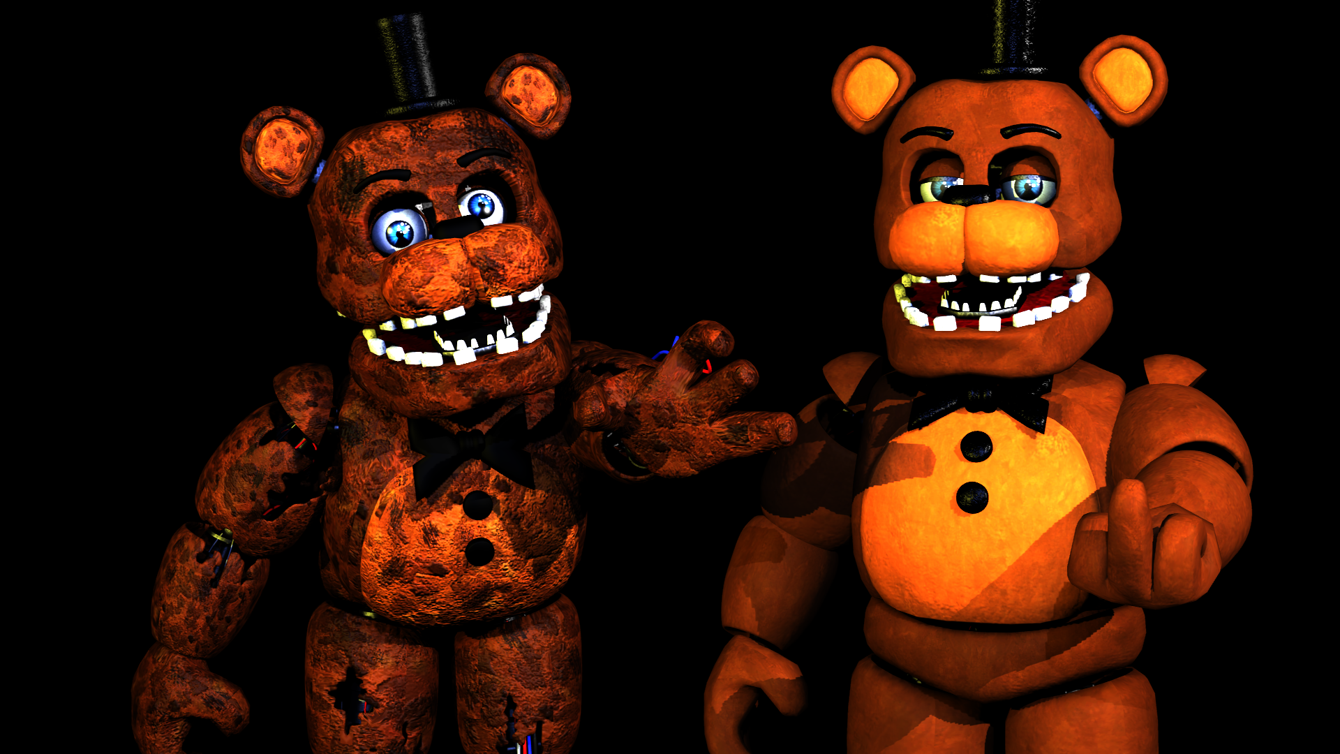Steam Workshop Late Leakmas Rynfox Withered Freddy Lol Withered freddy vs withered bonnie fnaf | minecraft five nights at freddy's roleplay. rynfox withered freddy lol