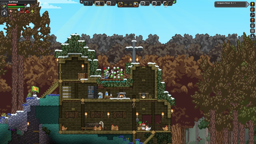 Steam Community :: Screenshot :: ascetic, non-violent floran gameplay  (florans are supposed to be a carnivorous humanoid/plant species)