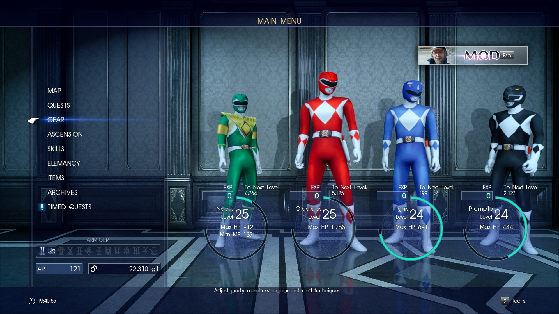 Steam Workshop :: Mighty Mophin Power Ranger Collection