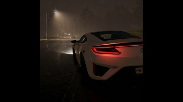 Steam Workshop :: Car in the rain at night - The Crew 2