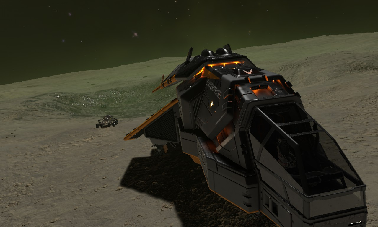 Enfin le pilote dans son SRV détruit