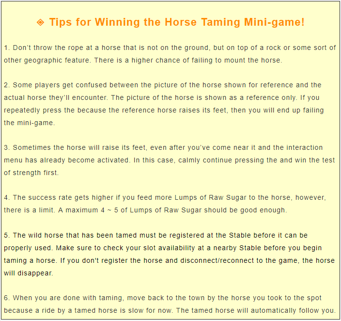 Steam Community :: Guide :: Taming