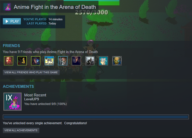 Steam Community Anime Fight In The Arena Of Death