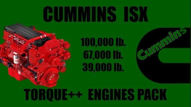 Steam Workshop :: Cummins ISX Torque++ Engines Pack
