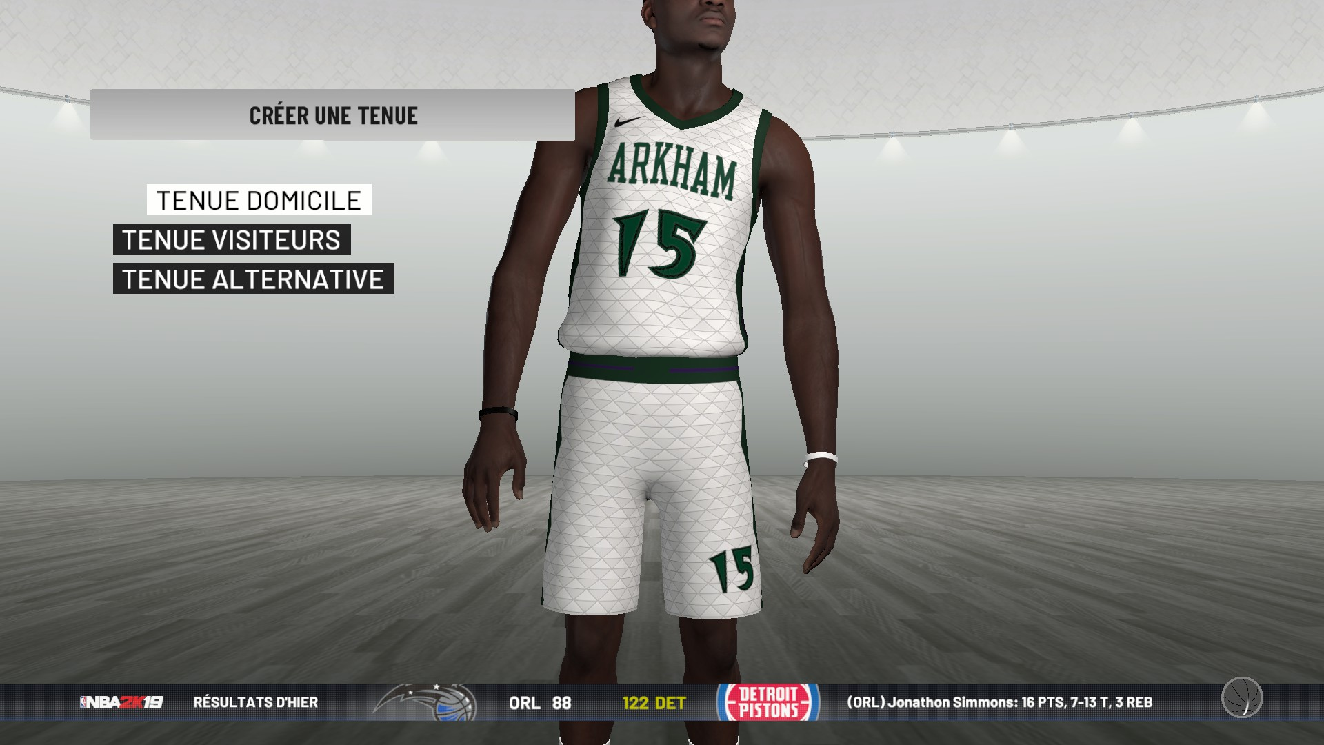 My League Expansion Jersey Bug :: NBA 2K19 General Discussions