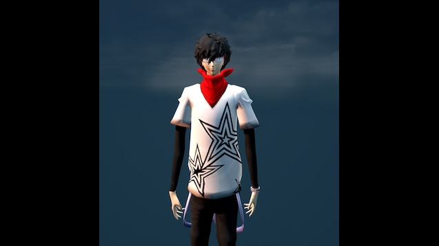 Steam Workshop Persona 5 Joker Dancing All Night Outfit