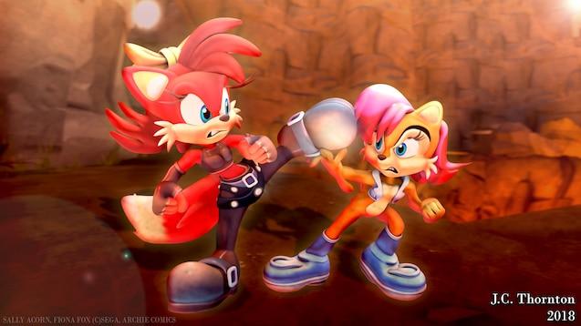 Steam Workshop :: Sonic The Hedgehog - Sally Acorn (GMOD)