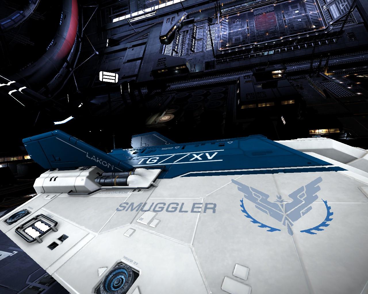 Le vaisseau dédié contrebande