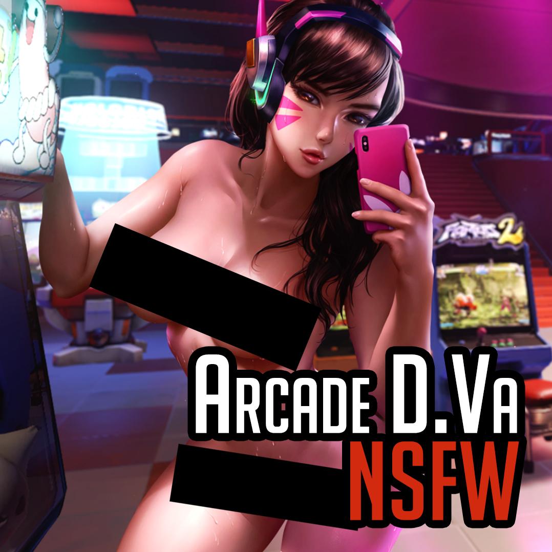 [M] Arcade D.va (nude) - Overwatch - Logan Cure (Vell)