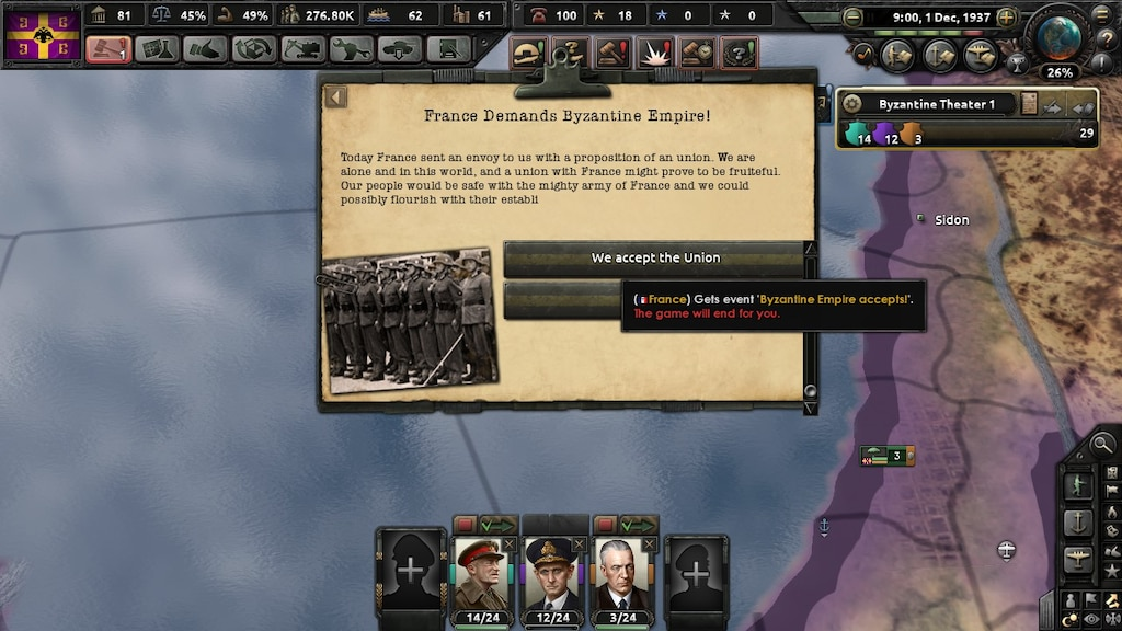 Steam Community :: Screenshot :: uh, france used this event