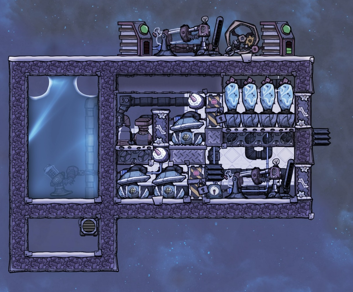 Oxygen Not Included - Accidental Breaches Into Chlorine