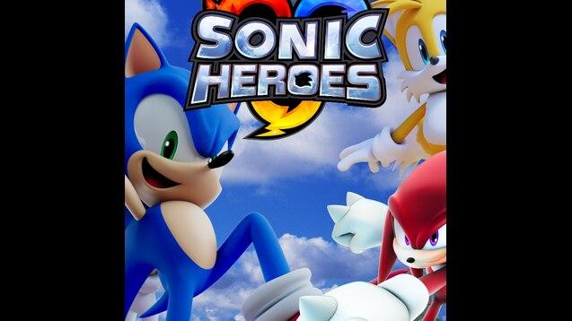 Steam Workshop Sonic Heroes Renders Made Background Sonic
