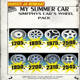 Steam Workshop Simfphys My Summer Car Wheels Pack