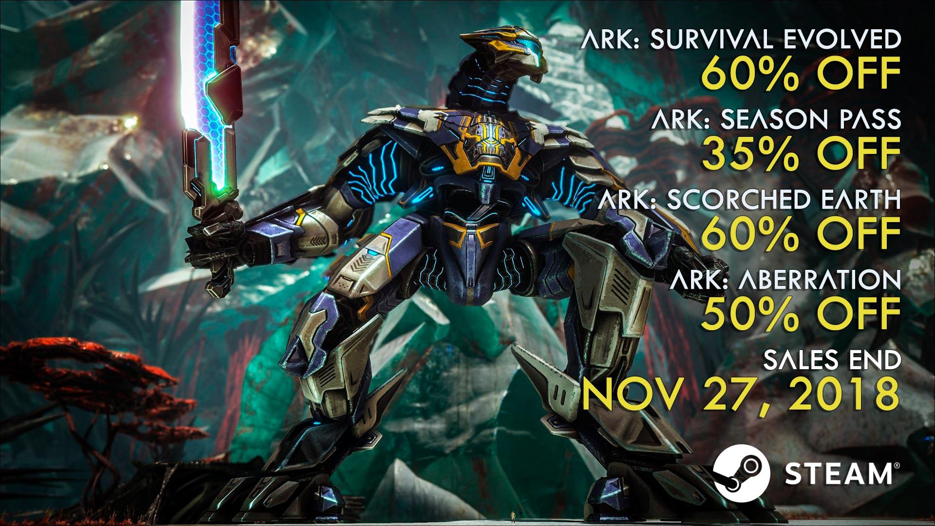 Nov 15, 2018 Wot I Think Ark: Extinction ARK: Survival Evolved
