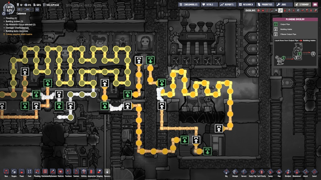 Oxygen Not Included New Steam Turbine