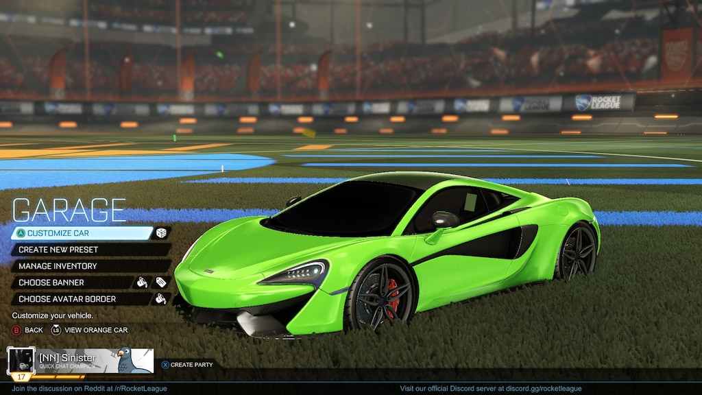 Steam Community :: Screenshot :: McLaren 570S Acid Green