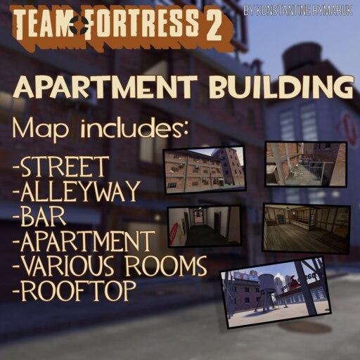 Steam Workshop::TF2 Apartment Building {sfm