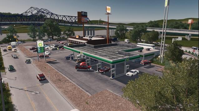 Steam Workshop :: BP Gas Station [RICO]