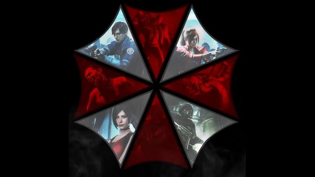 Steam Workshop :: Resident Evil 2 Remake Umbrella Logo ultrawide