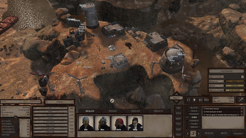 Steam Community :: Screenshot :: The Tech Ninja Headquarters