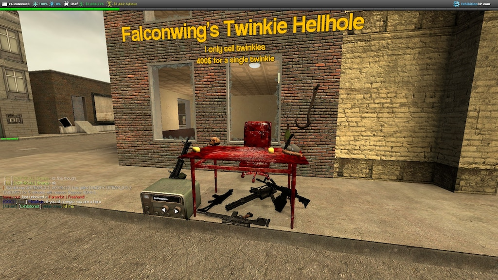 Steam Community :: Screenshot :: So I made a twinkie stand