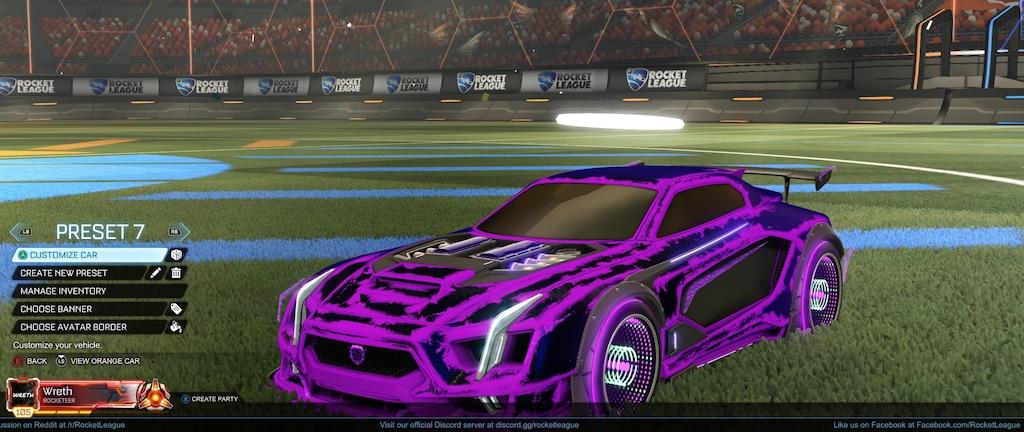 Steams gemenskap :: Skärmdump :: Purple Maverick GXT