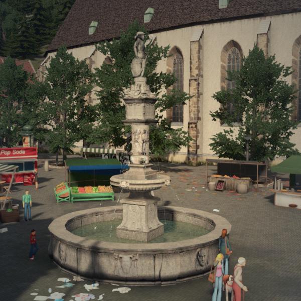 Maximilian Fountain, Bratislava