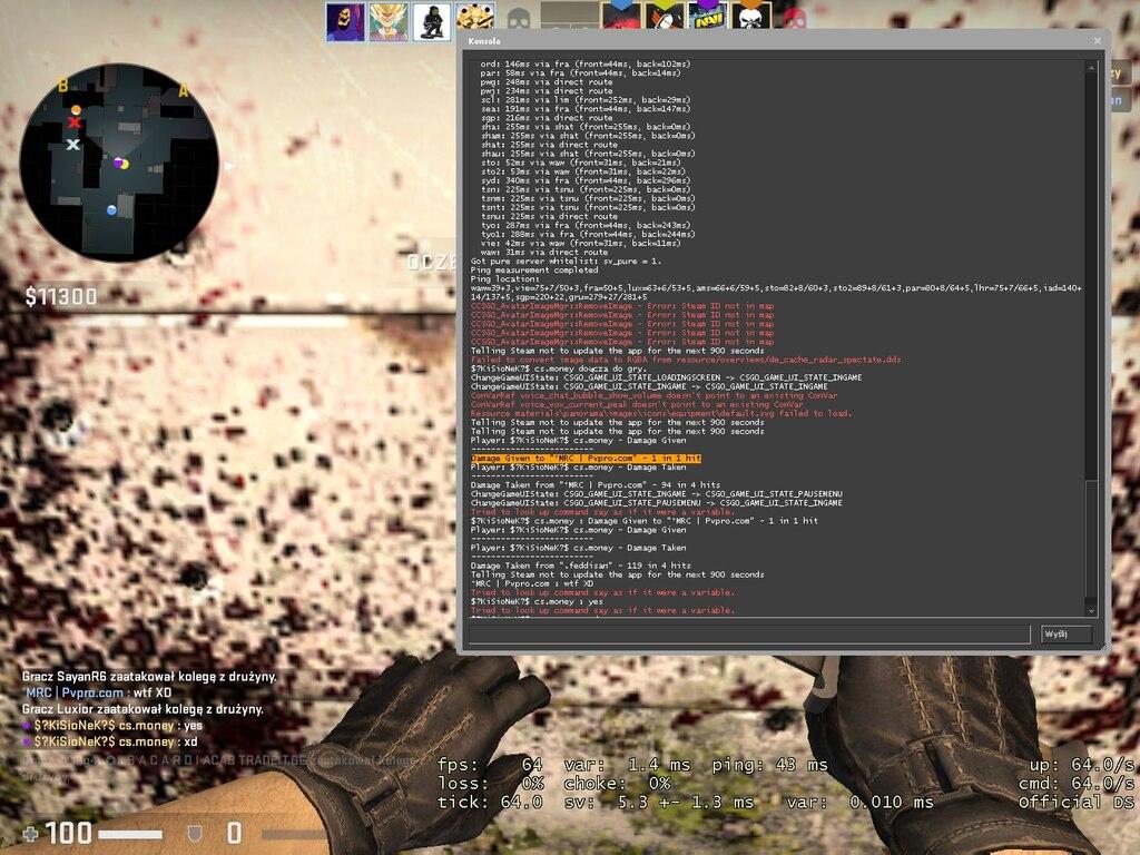 csgo damage command