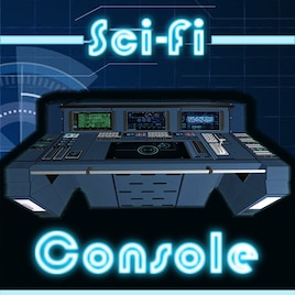 Steam Workshop :: Sci-Fi 3D Model - Console / Control Panel