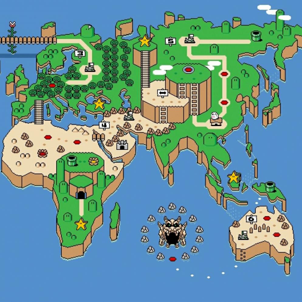 Steam Workshop :: Super Mario World Map