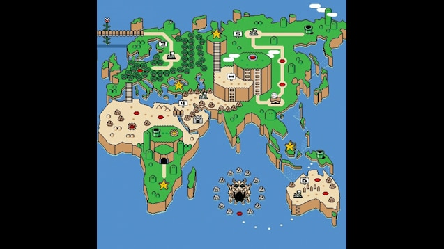 Steam Workshop :: Super Mario World Map