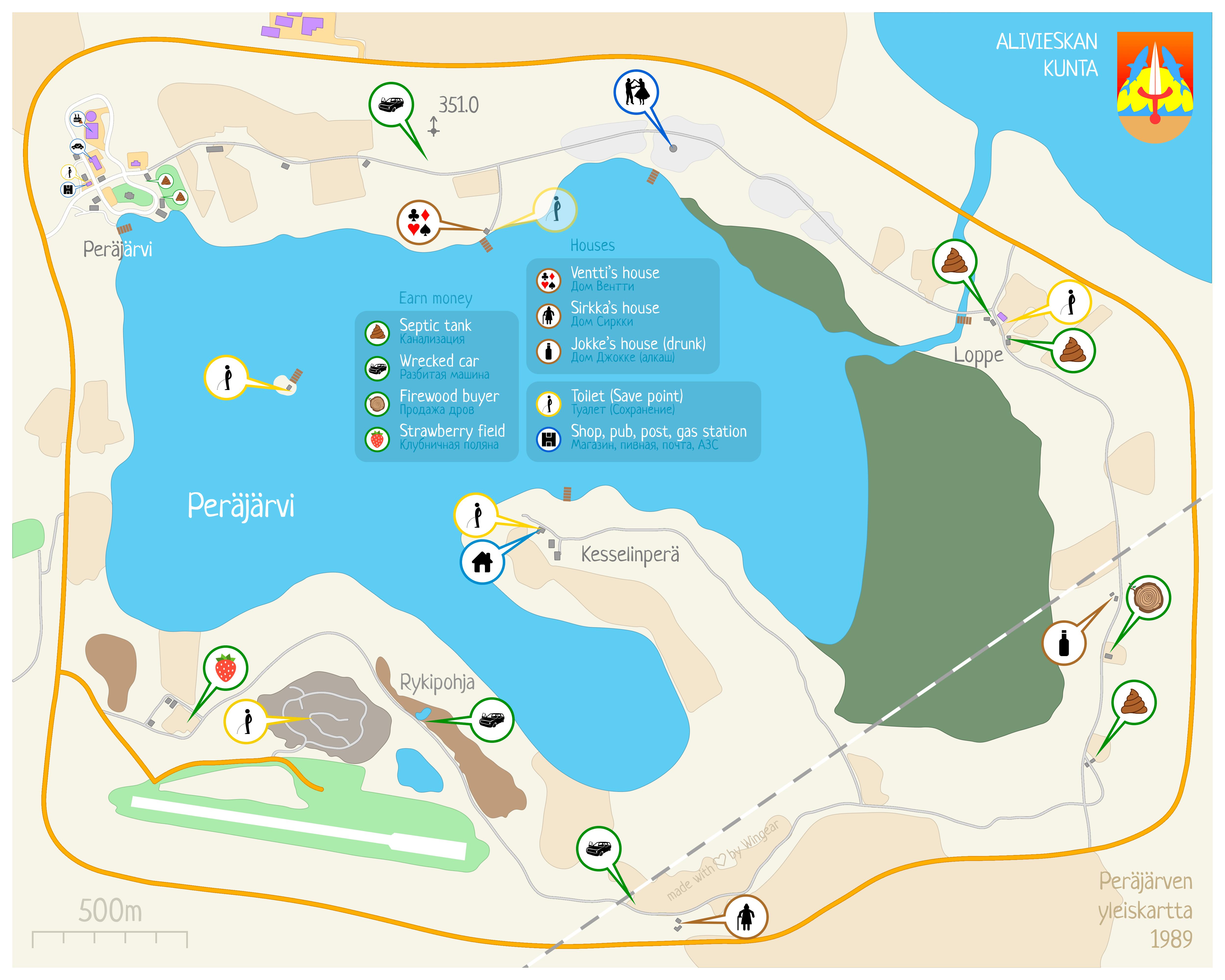 My Summer Car Mapa.Communaute Steam Guide 4k Map 3 0 Karta 3 0