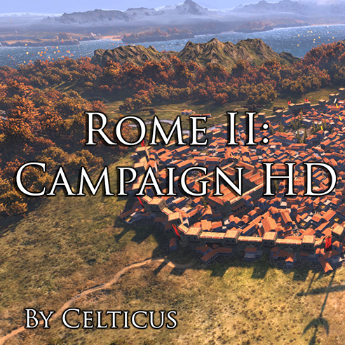 Rome II: Campaign HD Textures and Lighting