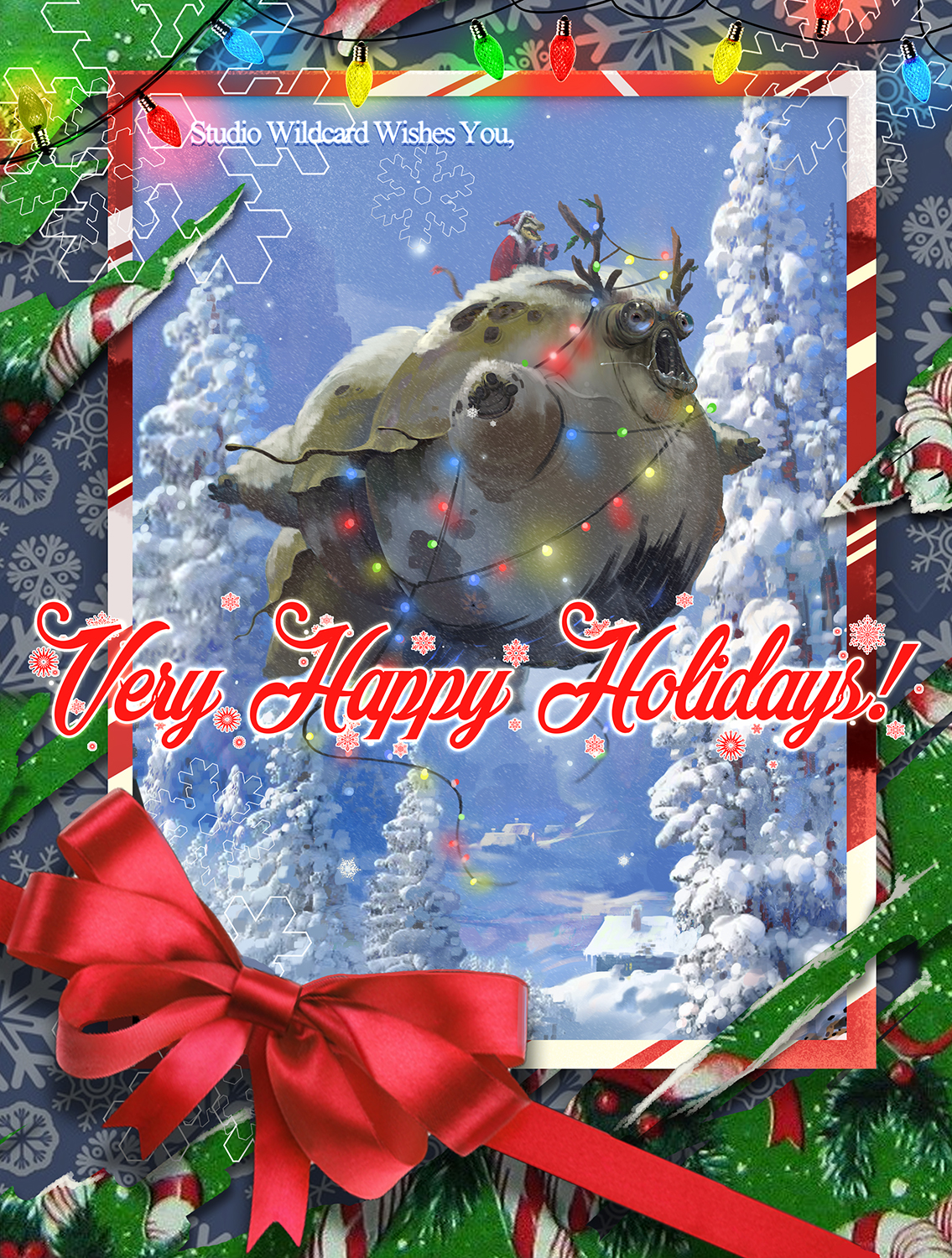 Ark Survival Evolved Christmas Event.Ark Survival Evolved Happy Holidays