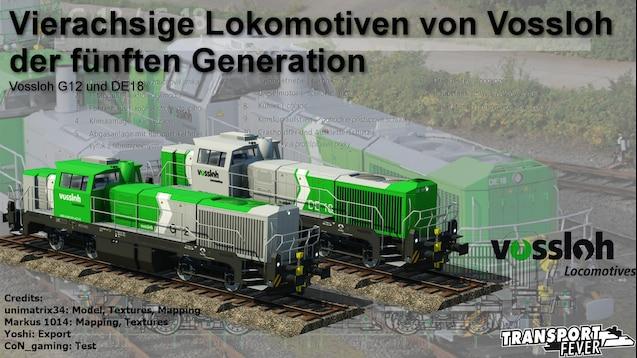 Steam Workshop :: Vossloh G12 and DE18