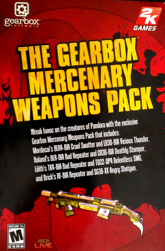 Steam Community :: Guide :: Gearbox Mercenary Weapon Pack
