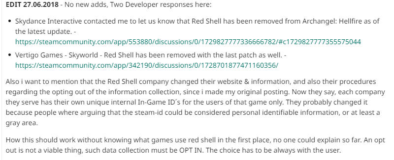 Steam Community :: Guide :: How to block the REDSHELL
