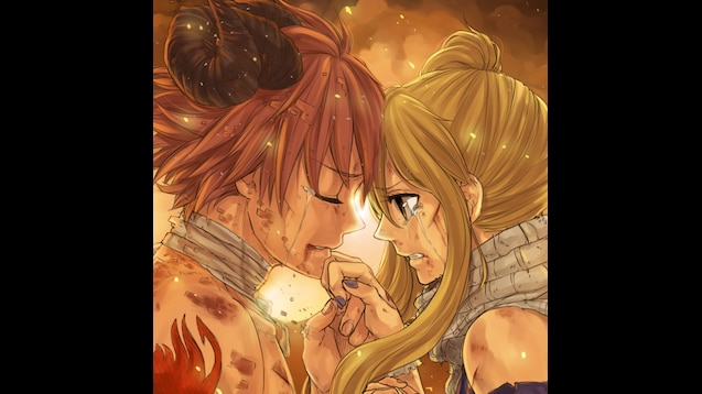 Steam Workshop Natsu And Lucy Fairy Tail Best Animated