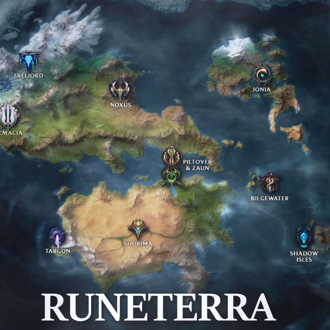 Steam Workshop :: LoL Map of Runeterra