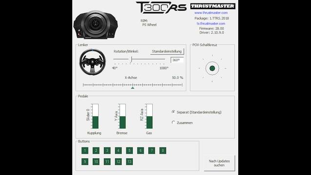 Steam Workshop :: Thrustmaster T300RS Settings