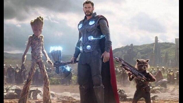 Avengers Infinity War - Thor