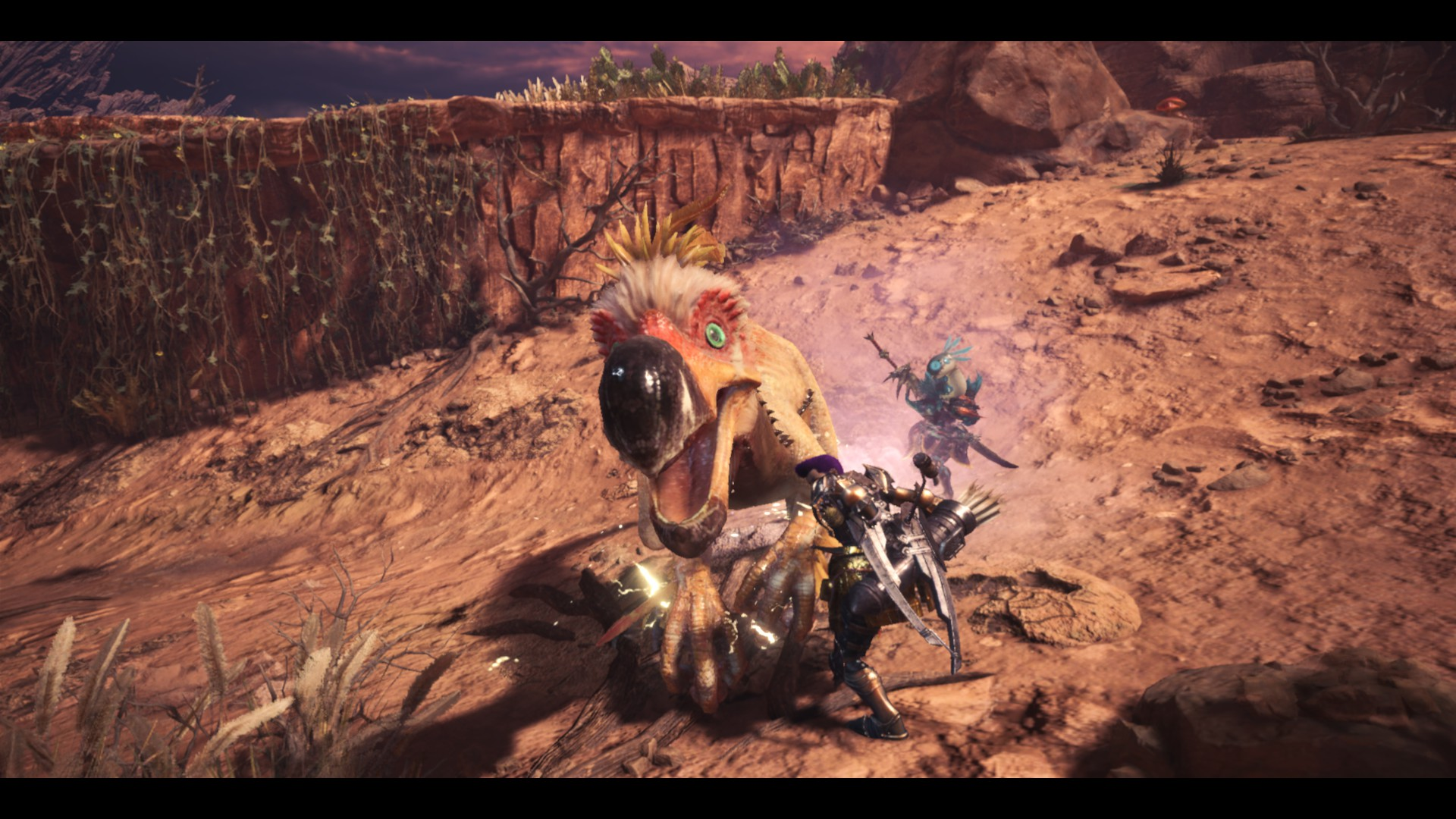 Monster Hunter MT: I just shot poop at the girlfriend whenever she