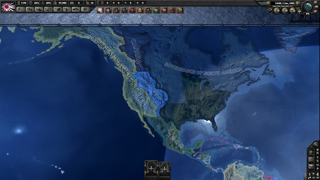 Hoi 4 States Map.Steam Workshop Hearts Of Iron The Man In The High Castle