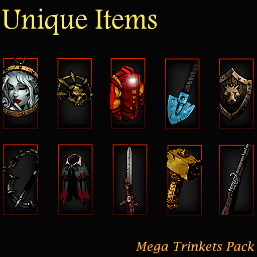Unique Items : Mega Trinkets Pack