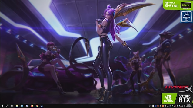 KDA League of Legends Wallpaper Cinematic 1080p 30fps