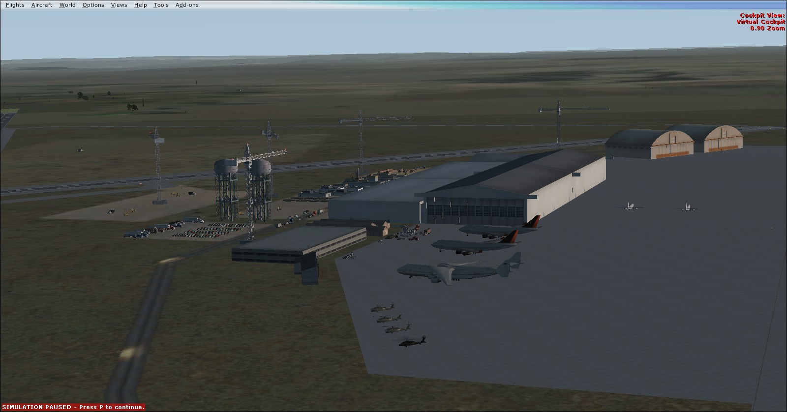 SimplePlanes | Moses Lake Flight Center!